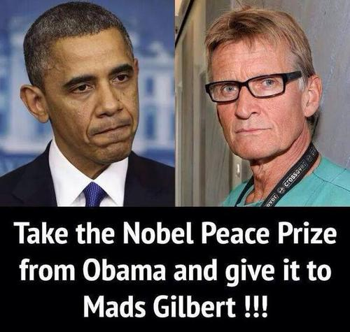 Obama-Gilbert Nobel Peace Prize